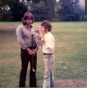 bill with ronnie lane