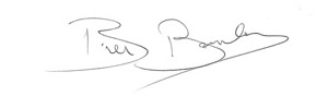 Bill Barclay's Signature